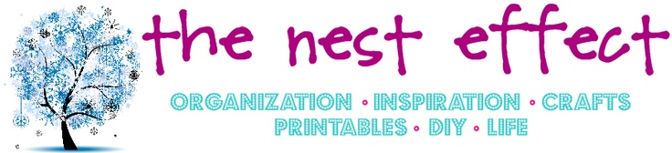 www.thenesteffect.com    lots of organization ideas and free printables!