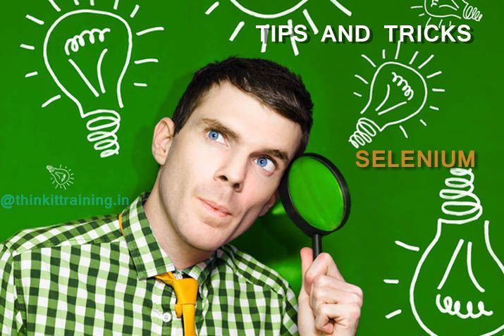 #Selenium Tips and tricks for software testing and testers with #QA tutorial and quick learn for #softwaretesting