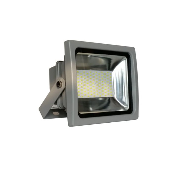 Proyector LED 50W SMD 4500K IP65 Gris