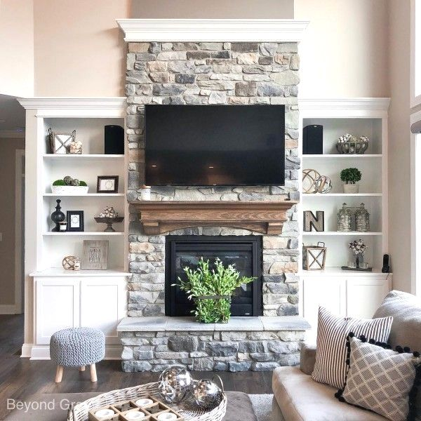 20 Best Stone Fireplace Ideas For A Cozy Home Stone Fireplace