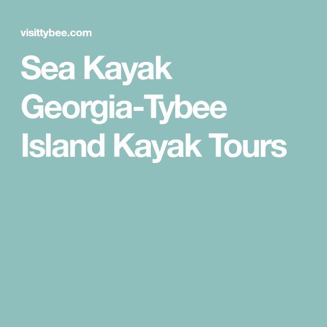 Sea Kayak Georgia-Tybee Island Kayak Tours