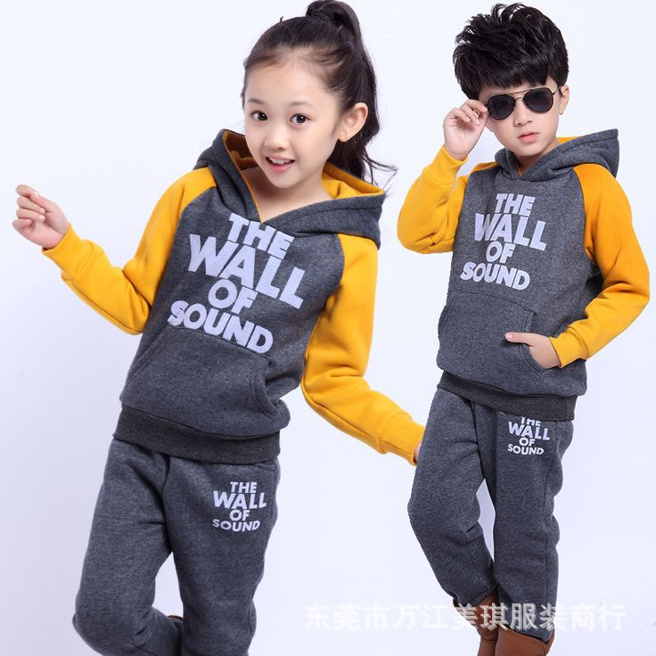 >> Click to Buy << Children's clothing fleece sweater suit cheap children's clothing supply foreign trade clothing children's suit #Affiliate
