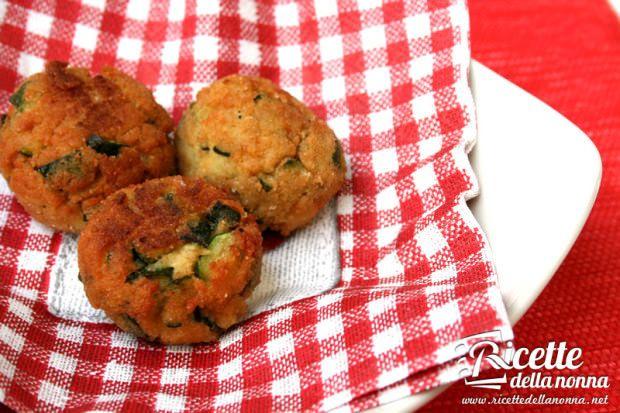 Polpette di zucchine e ricotta | Ricette della Nonna