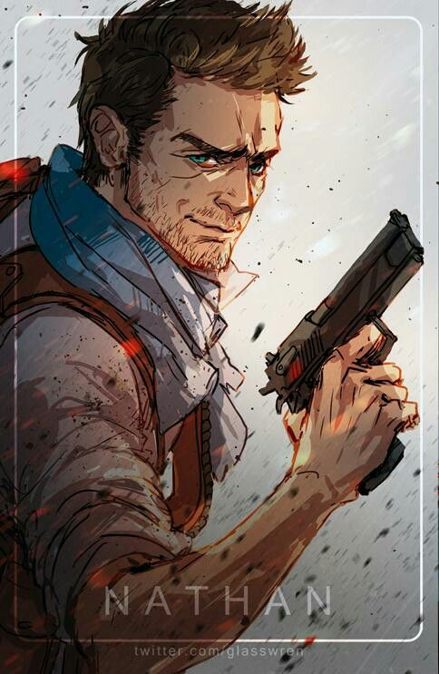 Supposed to be Nathan Drake .o. pretty good, pretty kewl, pretty well yes -Will
