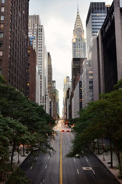 I've been to NYC many times but I've never seen the streets this empty loll!