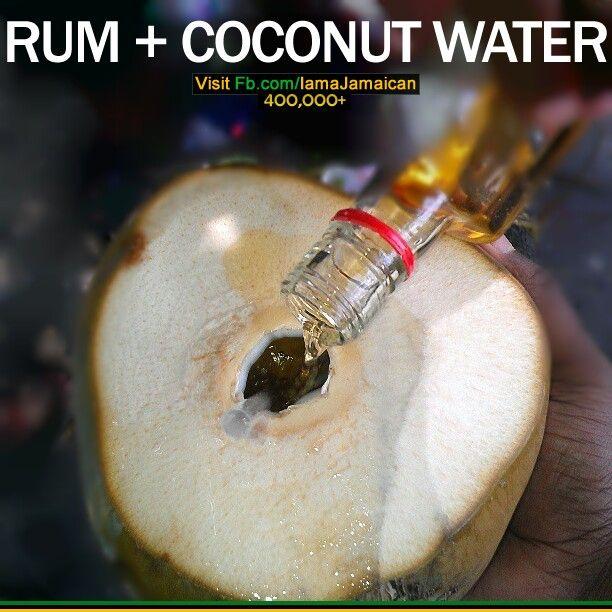 Rum + coconut