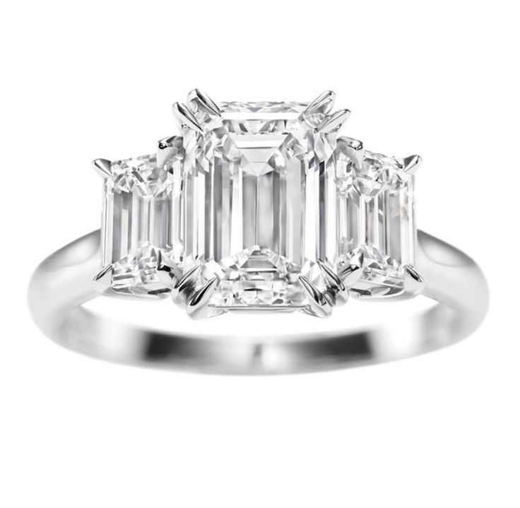 a little blingEmeraldcut, Diamond Rings, Harry Winston, Emerald Cut, Diamonds Rings, Emeralds Cut Three, Dreams Rings, Three Stones, Engagement Rings