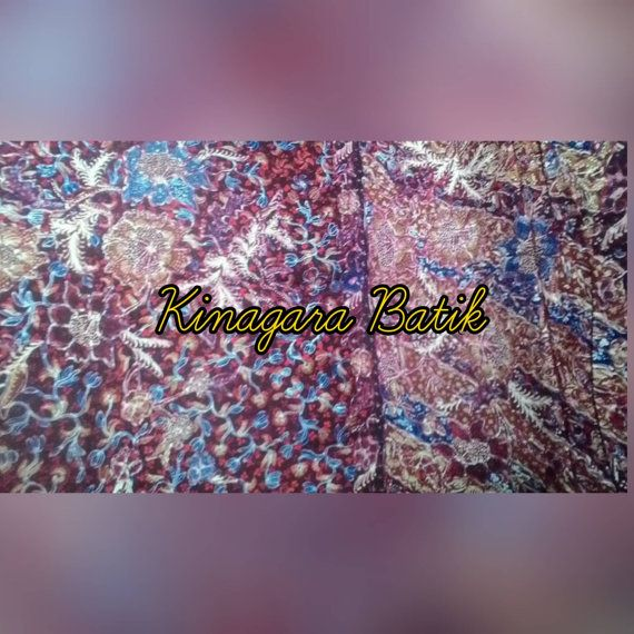 Check out this item in my Etsy shop https://www.etsy.com/listing/501169413/hand-written-indonesia-batik-brown
