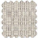 Sunbrella Silver Linen from the Cushion/Furniture/Drapery Fabrics Sunbrella® Specialty Weaves collection.