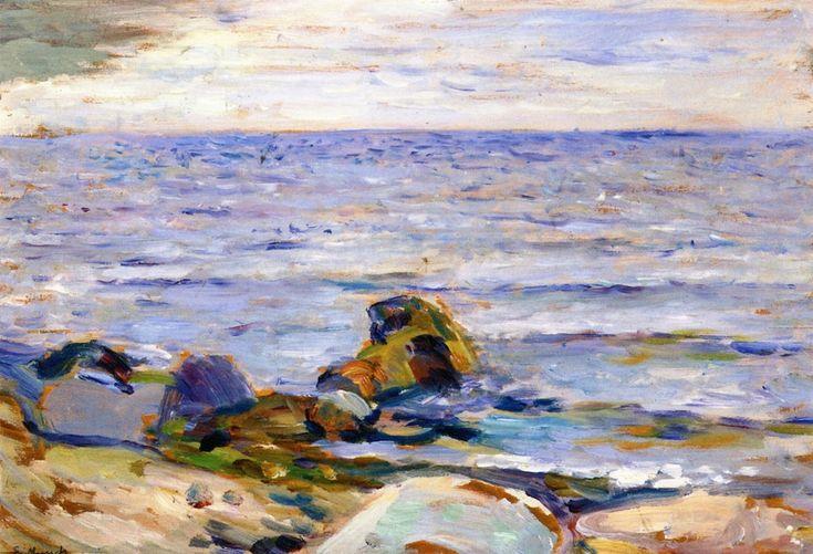 Beach Landscape Edvard Munch - 1889