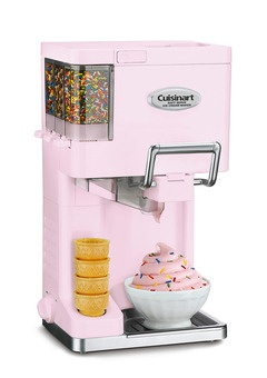 Yes, ice cream on demand. Yes. Of course: Soft Serve, Frozen Yogurt, Ice Cream Maker, Cuisinart Soft, Serving Ice, Things, Products, Soft Serving, Icecream