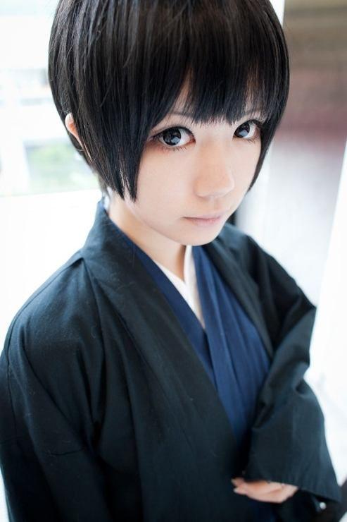 Japan from Axis Powers Hetalia Cosplay    anime cosplay