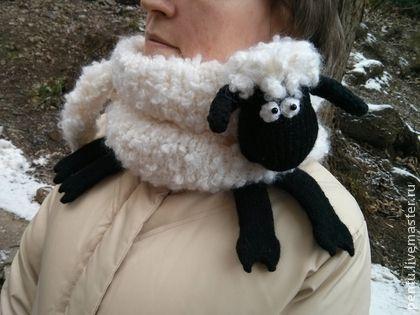 Snood Shaun the Sheep. Снуд Барашек Шон
