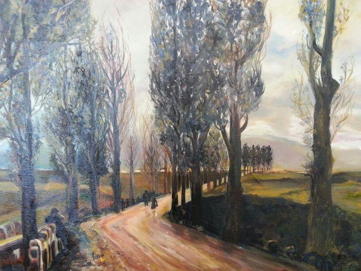 (Yağlıboya)-oil on canvas- Fusun Ogreten