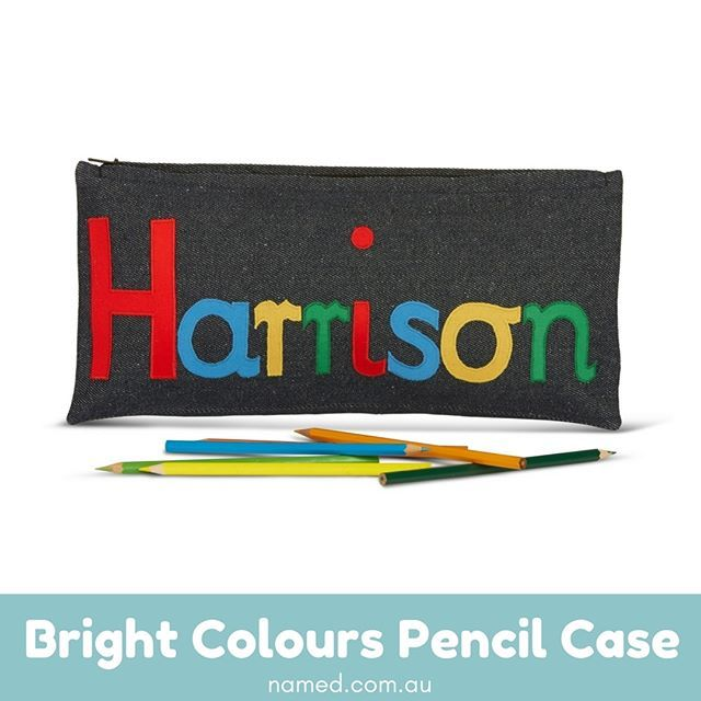 Boys need funky and cool pencil cases, and this 36cm by 17cm case is sure to become one of their favourites.    This is the best pencil case for boys, as it is made of durable materials, and features plenty of bold colours to make sure everyone knows who the case belongs to.    Shop now at named.com.au    #Named