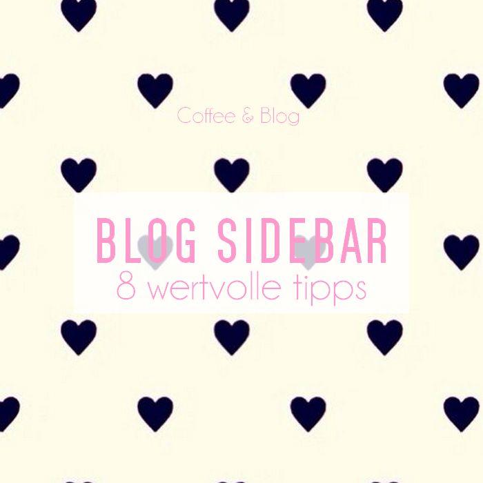 Blog Sidebar Tipps