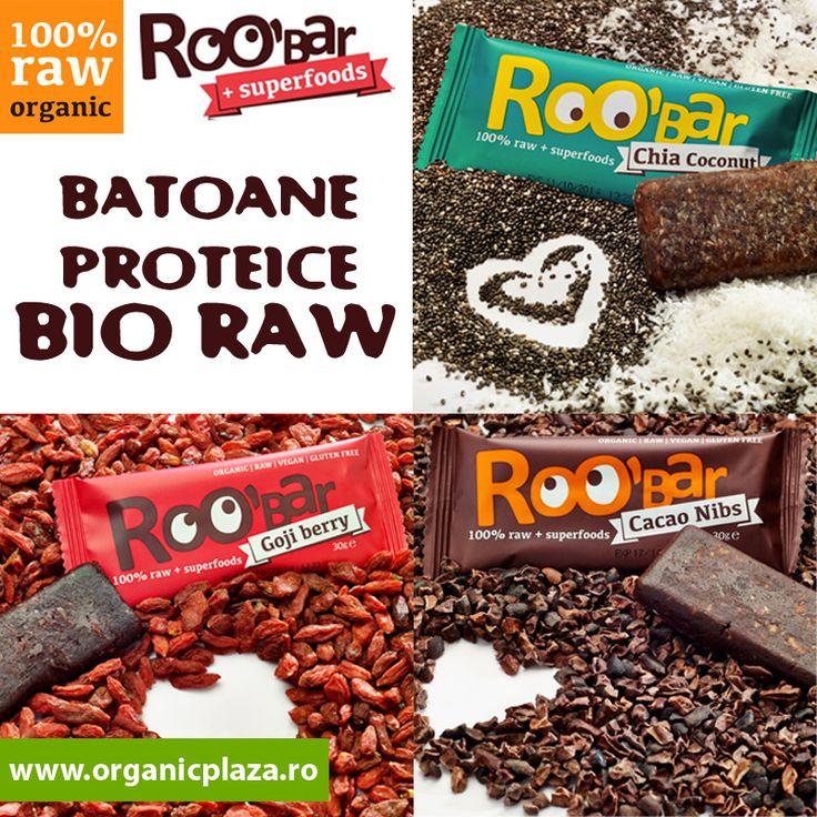 Batoane Proteice BIO RAW 100%  DELICIOASE!!! Descopera-le mai jos: http://organicplaza.ro/batoane-raw