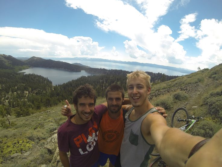 Marlette's peak with the boys, Lake Tahoe, CA