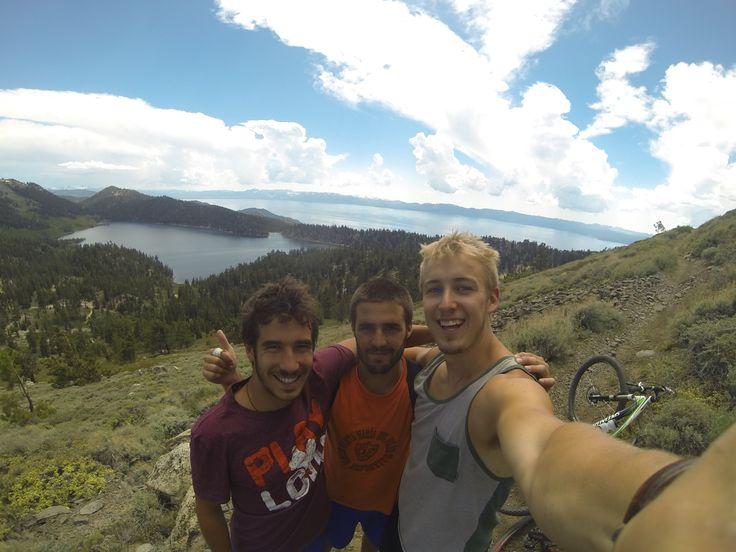 Marlette's peak with the boys, Lake Tahoe, CA