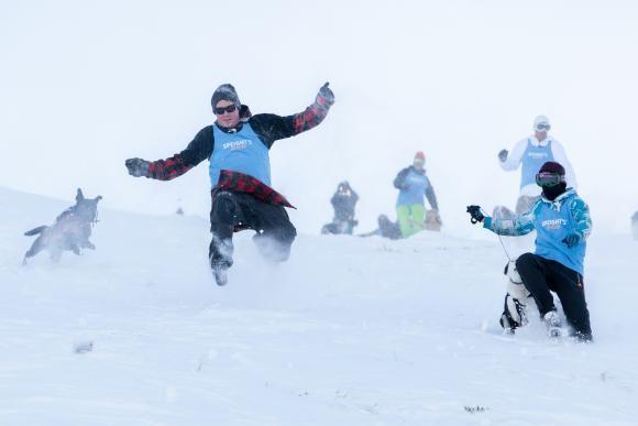 Speight's Dog Derby - Mountain Mayhem at Coronet Peak Ski Resort