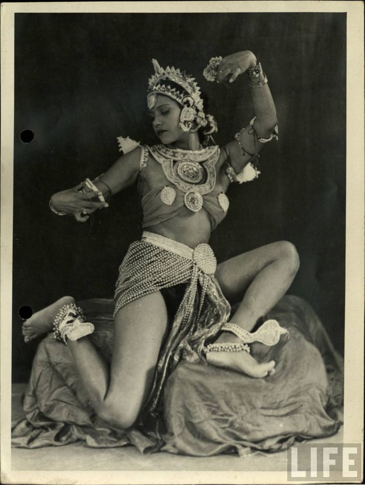 Vintage Indian Dancer