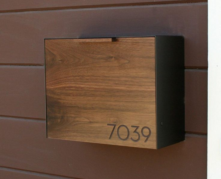 Installing Bronze Wall Mount Mailbox €� Home Design Styling