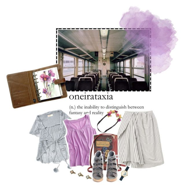 """""""{Sadness blooms like a cosmos flower at the train station...}"""" by beachan on Polyvore"""