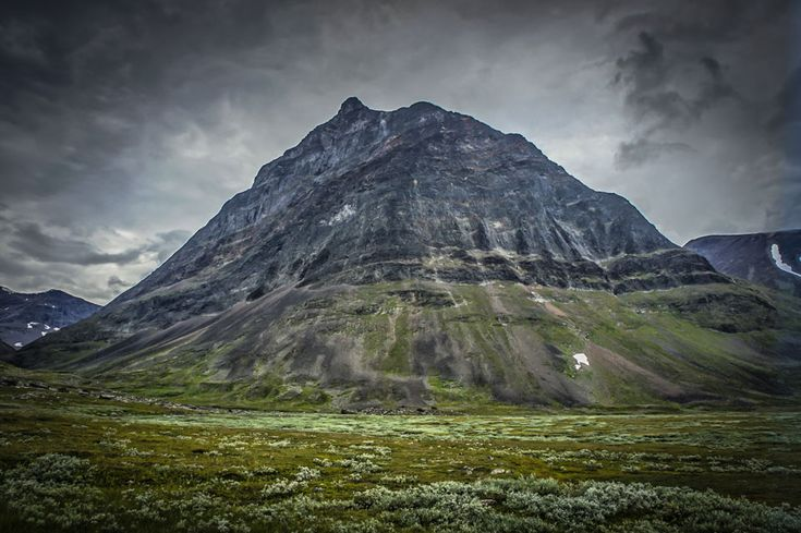 Kebnekaise is the highest mountain in Sweden.