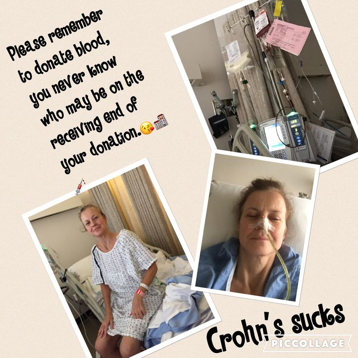 Living with Crohn's, being sick all the time, constant pain, surgeries, blood transfusions, iron infusions, ileostomy bag, and and and......When will it ever end.?