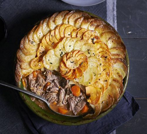 Lamb & Dauphinoise hotpot -  a delicious winter warmer!
