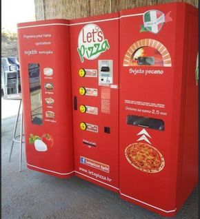 MARYJANE LOVERS: For Pizza Lovers: Pizza Vending Machine