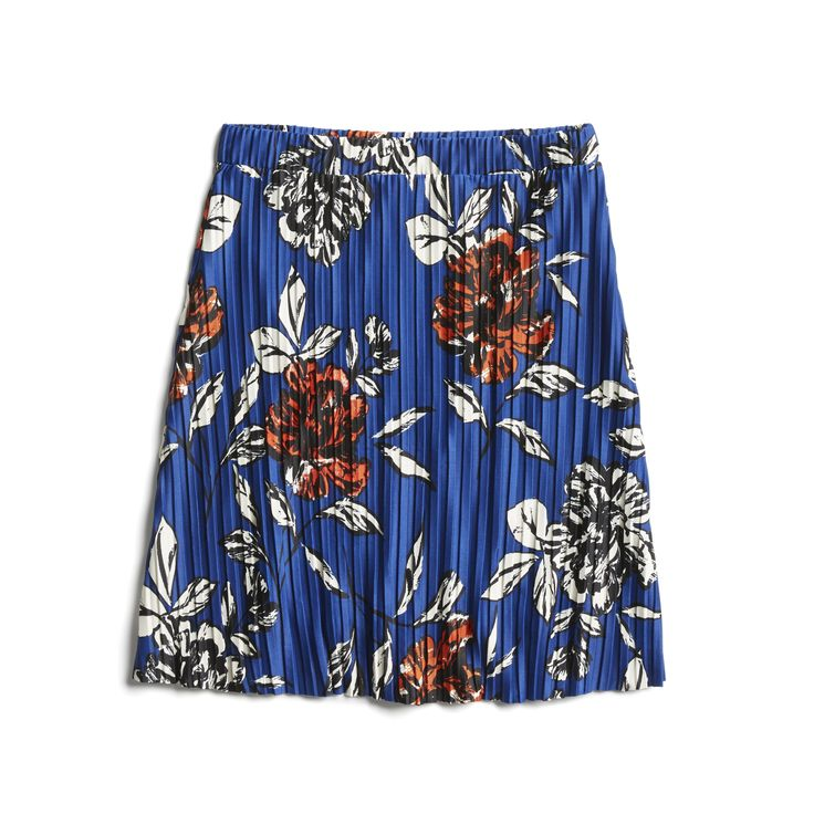 Stitch Fix Spring Stylist Picks: pleated floral skirt