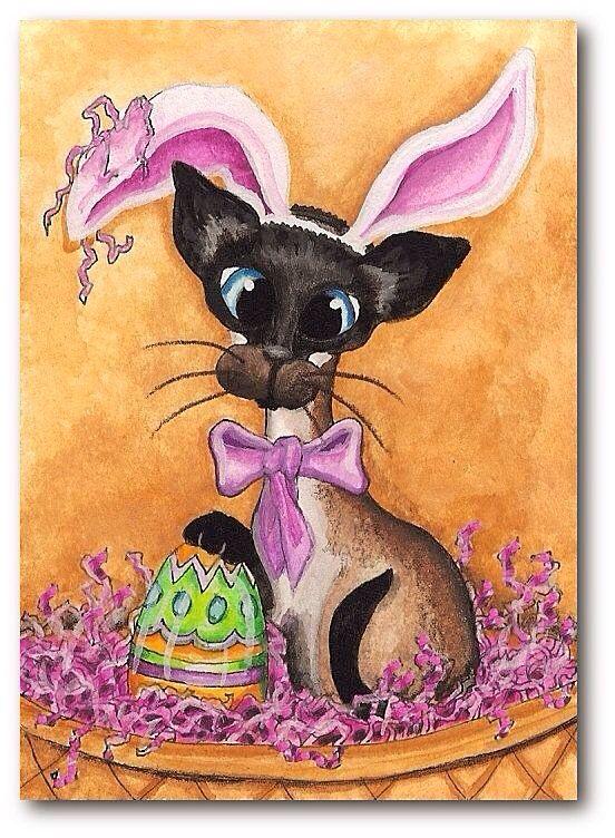 Открытки кроликом-котом, днем бухгалтера открытка
