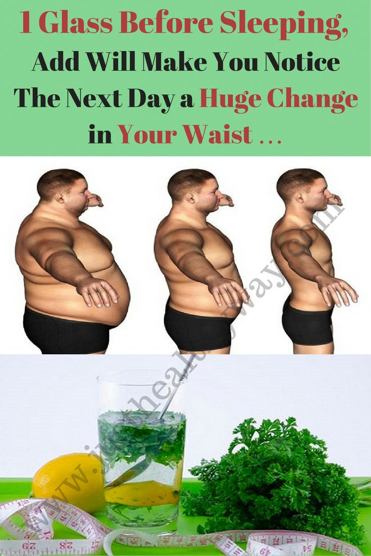 1 Glass Before Sleeping, Will Make You Notice The Next Day a Huge Change in Your Waist ... - Just Healthy Way #HealthyWeight