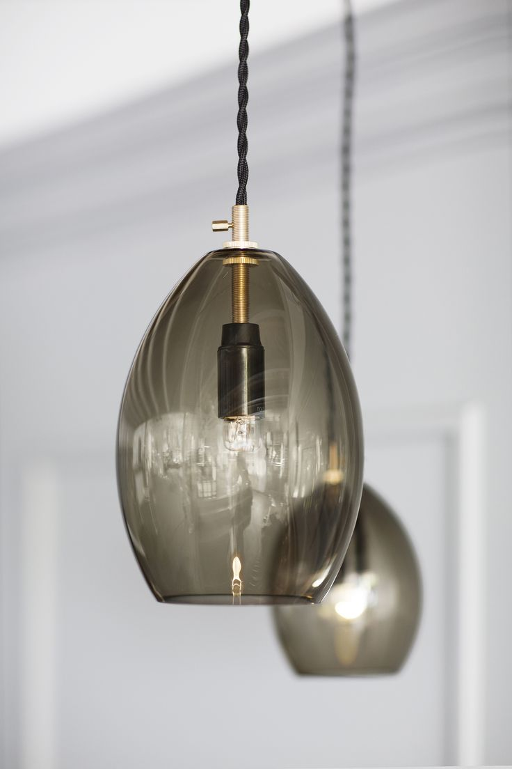 Unika is a mouth blown series of small, glass pendant lamps, designed by Anne Louise Due De Føss & Anders Lundqvist