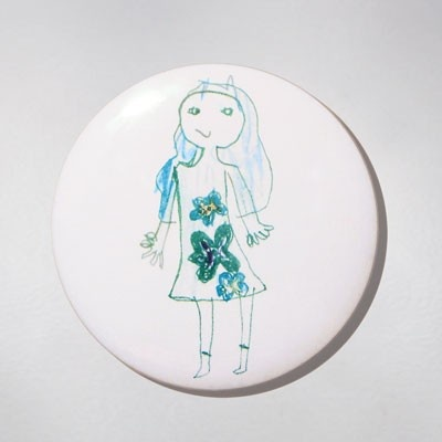 Mirror - Miss. Łucja - she is a young artist but we can't be indifferent to her creativity :) $11 zł.