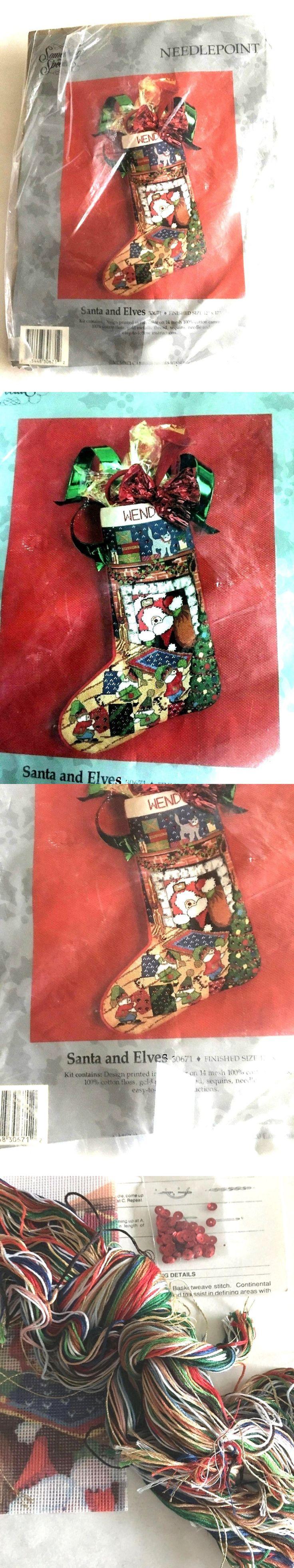 Needlepoint Kits 3109: Candamar Designs, Something Special, Christmas, Needlepoint Stocking Craft, San -> BUY IT NOW ONLY: $59.99 on eBay!