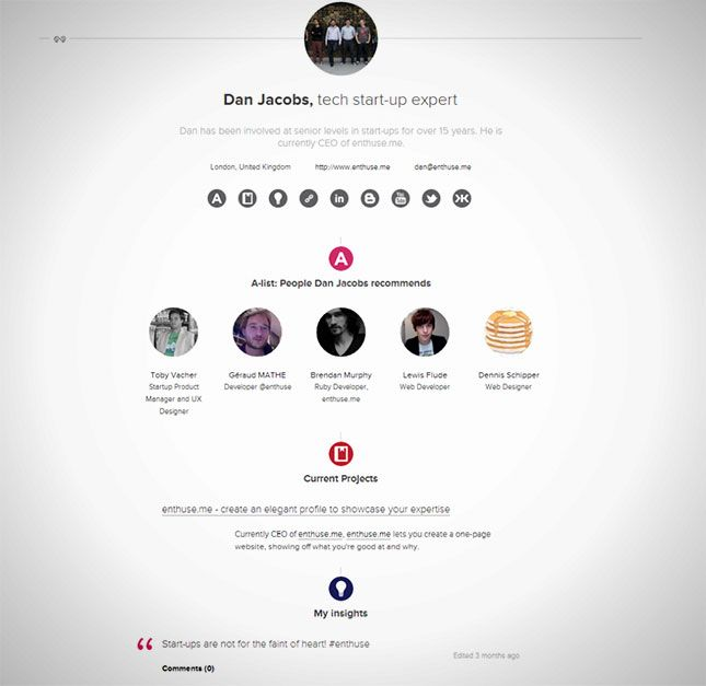 17 Terbaik ide tentang Online Resume di Pinterest Riwayat hidup - online resume website