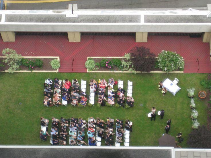Spring Wedding Ceremony at the Delta Ottawa City Centre