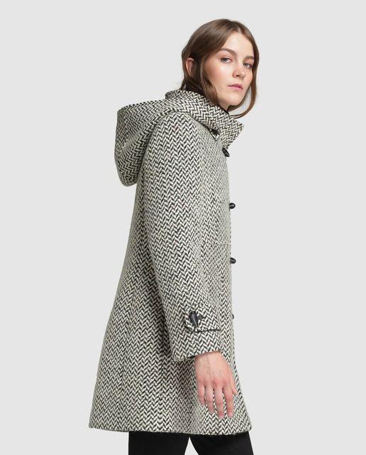 Abrigo largo de mujer Boutique El Corte Inglés con capucha  ff3d3fe8ce7d