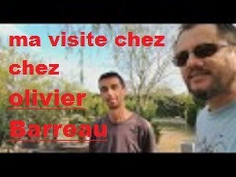 ma visite chez Olivier Barreau Artisan Bonsai