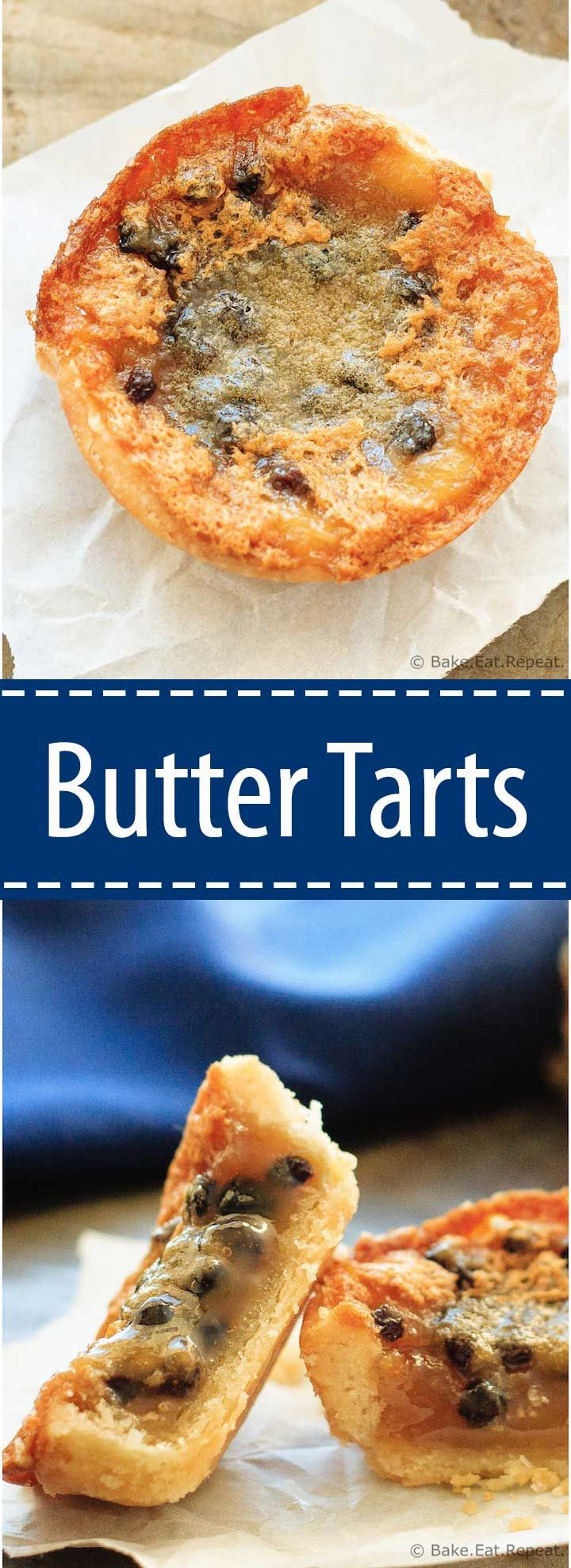 Butter Tarts - Sweet, buttery, caramel-y, amazing. These butter tarts are a Christmas tradition around here!