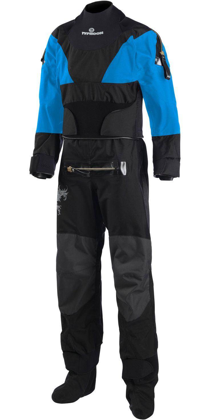 Typhoon Multisport Extreme Latex Ladies Drysuit Con Zip Inc Fleece 100131 - 100131 - - by Typhoon