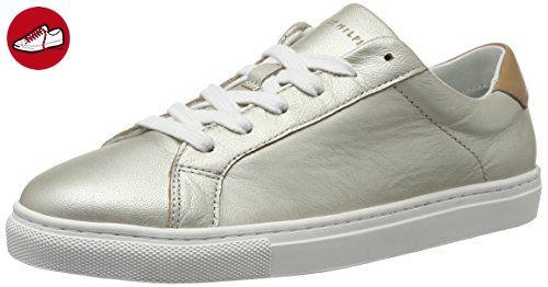 Tommy Hilfiger Damen T1285INA 10A2 Sneakers, Silber (Light Silver 041), 40 EU (*Partner-Link)