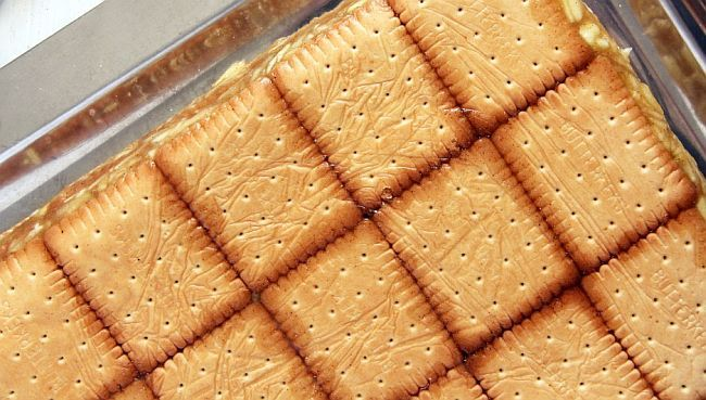 Dulciuri de post cu biscuiti