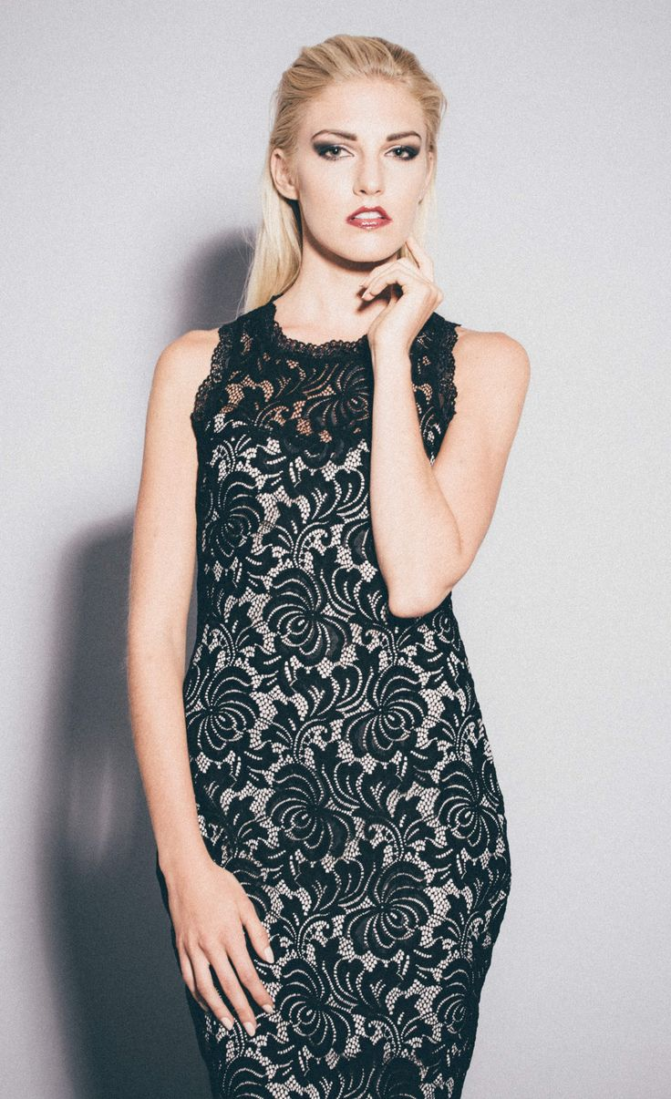 Sesja glam #black #lace #model #sexy #glam #session #dress #sukienka #koronkowa #czarna