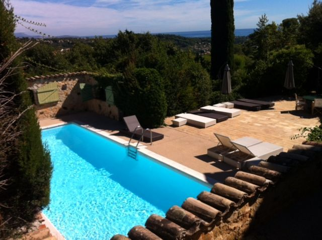Biot Holiday Villa: Villa ANTIBES/BIOT in secure Domaine