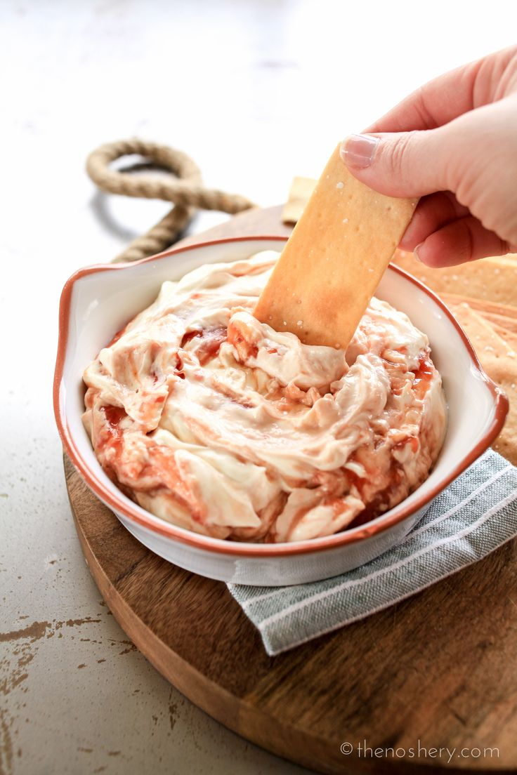 The Noshery | Guava and Cream Cheese Dip | http://thenoshery.com