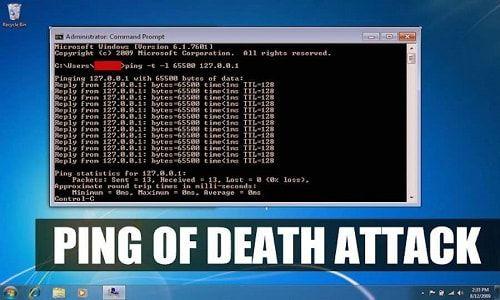 Πώς να εκτελέσετε μια Ping of Death επίθεση με CMD και Notepad Ping of Death