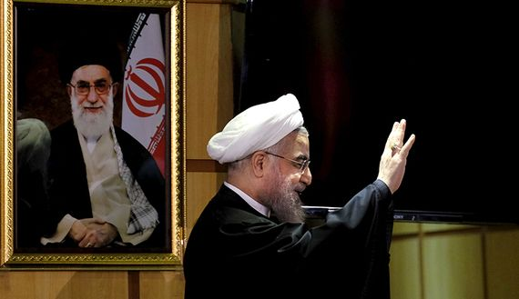 5/8/17 Khamenei increases pressure on Rouhani ahead of elections    Iranian Supreme Leader Ayatollah Ali Khamenei's criticism of a UNESCO program promoting gender equality is seen as an attack on President Hassan Rouhani
